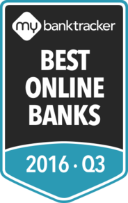 The MyBankTracker awards to the 10 best online banks for Q3 2016
