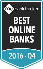 The MyBankTracker awards to the 10 best online banks for 2016