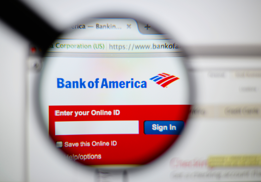 Bank of america website