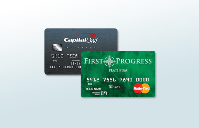 capital one first progress