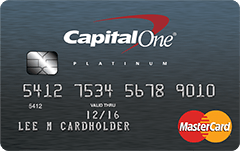 The Capital One<sup>®</sup> Secured MasterCard<sup>®</sup>