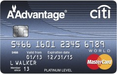 Citi Platinum Select Advantage World MasterCard<sup>®</sup>