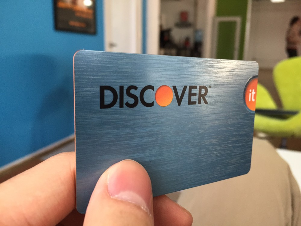Discover it<sup>®</sup> credit card
