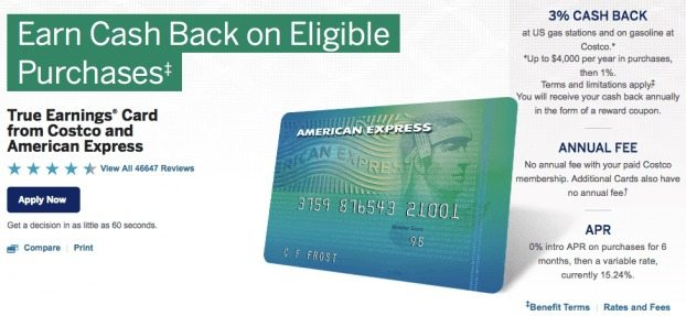 You can still apply for the Costco-branded credit card, for now...