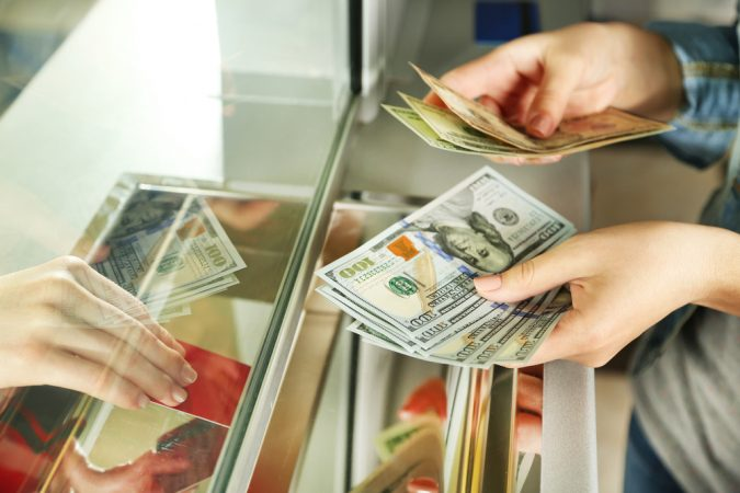 Image result for cash deposit for credit cards