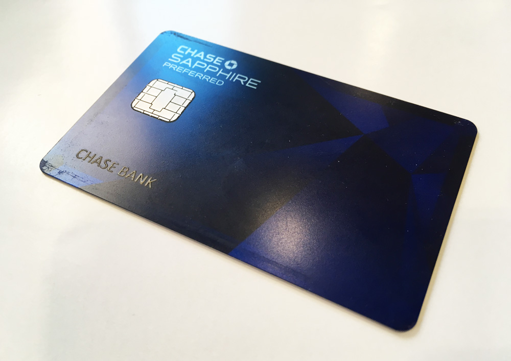 Chase Sapphire Preferred<sup>®</sup>Credit Card