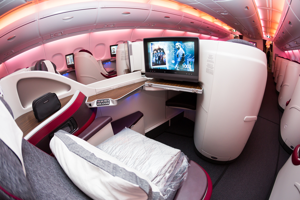 First Class Airplane Seats