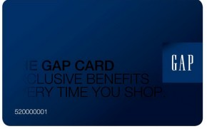 Gap Credit Cards