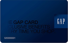 Gap Store Credit Card