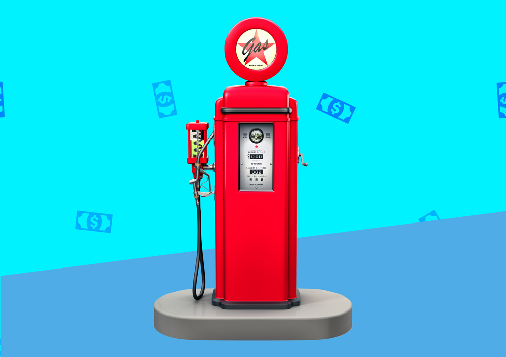 best gas pumps credit cards
