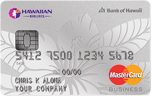 Hawaiian Airlines Business MasterCard