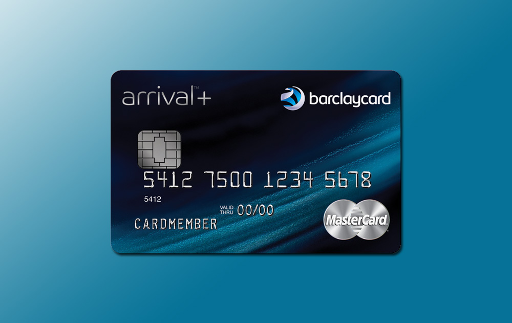 Barclaycard Arrival Plus World MasterCard<sup>®</sup>