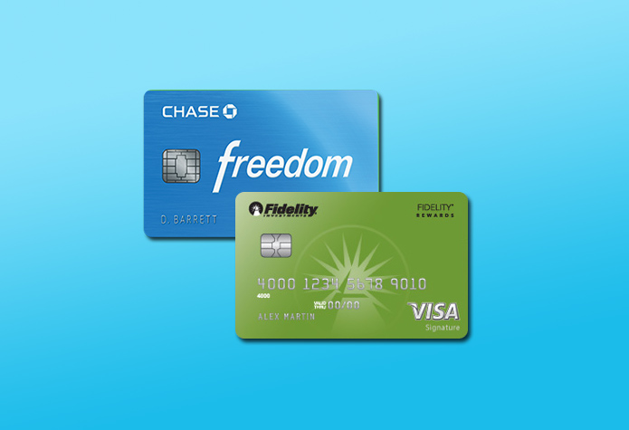 fidelity rewards chase freedom