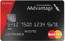 AAdvantage<sup>®</sup>Aviator Red MasterCard