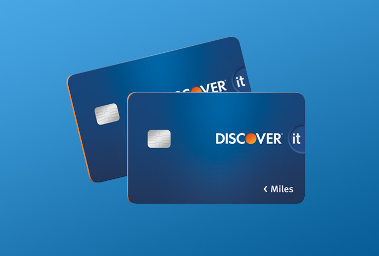Discover it<sup>®</sup> Miles credit card