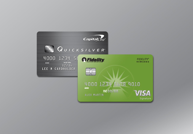 Capital One<sup>®</sup> Quicksilver<sup>®</sup> cards
