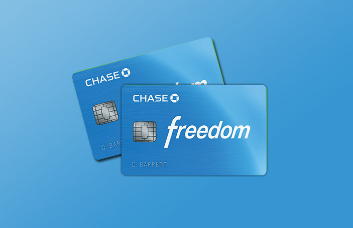 Chase Freedom<sup>®</sup>Credit Card