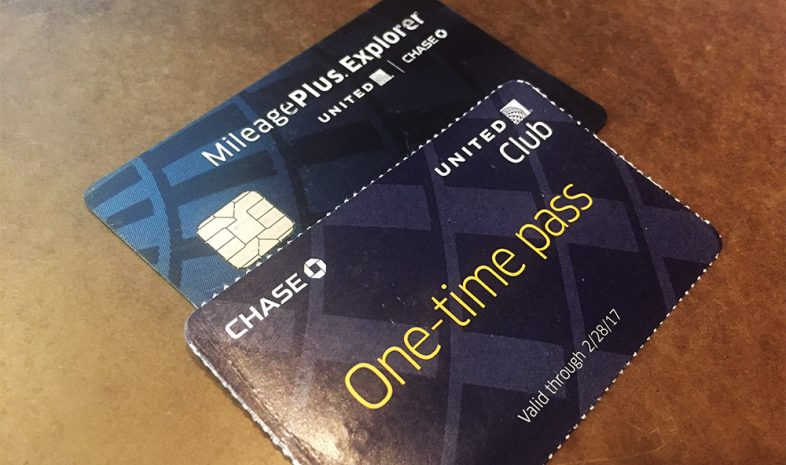 united mileage one time pass