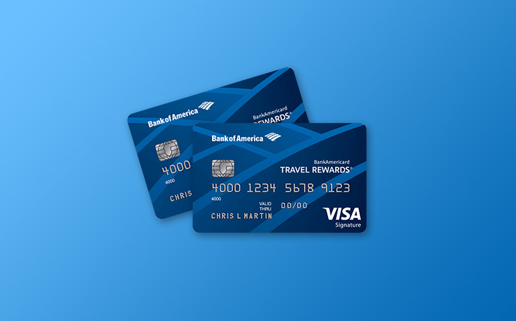 review of bankamericard travel rewards visa signature