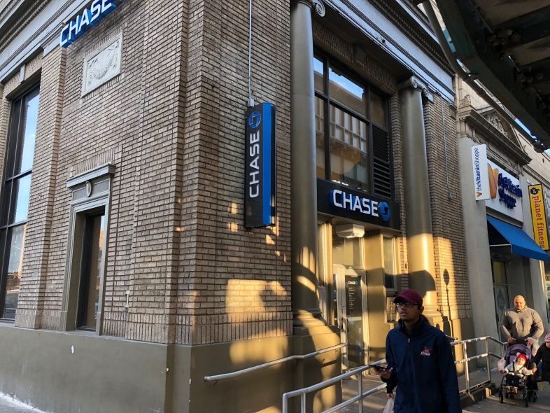 chase credit card application being reviewed