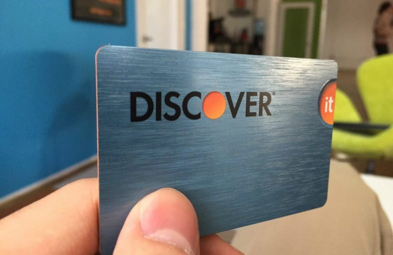 discover card credit cards cash student mybanktracker limit pull apply should report source score rewards apr ssn finally got rip