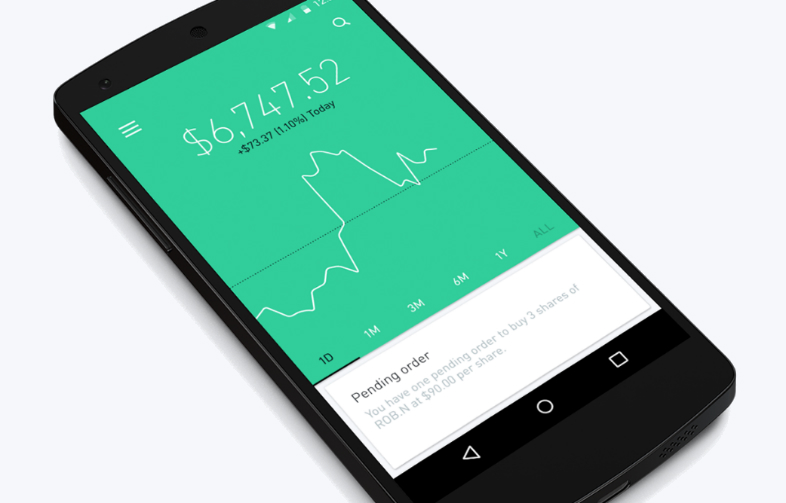 Height Commission-Free Investing Robinhood