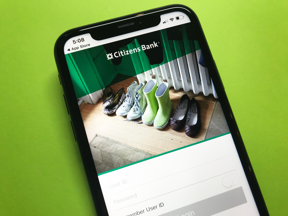 Citizens Bank iPhone App