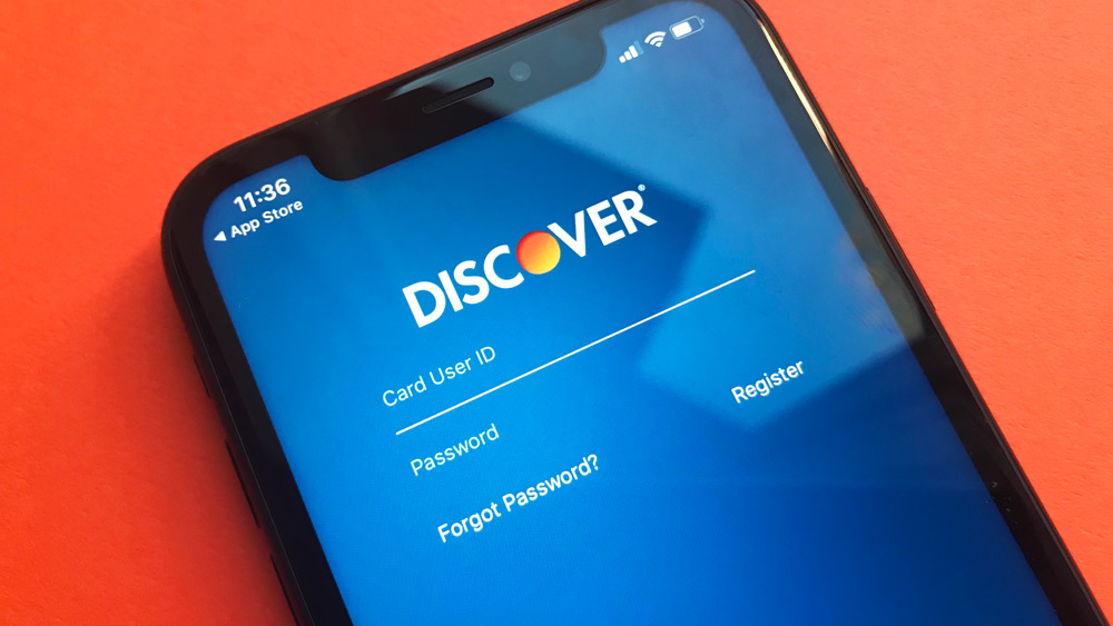Discover Bank Iphone