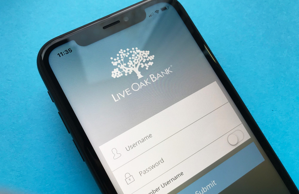 Live Oak Bank iPhone App